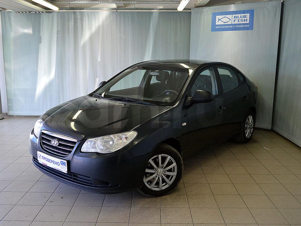 Hyundai Elantra с пробегом, черный , отличное состояние, 2009 года выпуска, цена 385 000 руб. в автосалоне РОЛЬФ Витебский Blue Fish (Санкт-Петербург, пр-кт Витебский, д. 17, корп. 6)