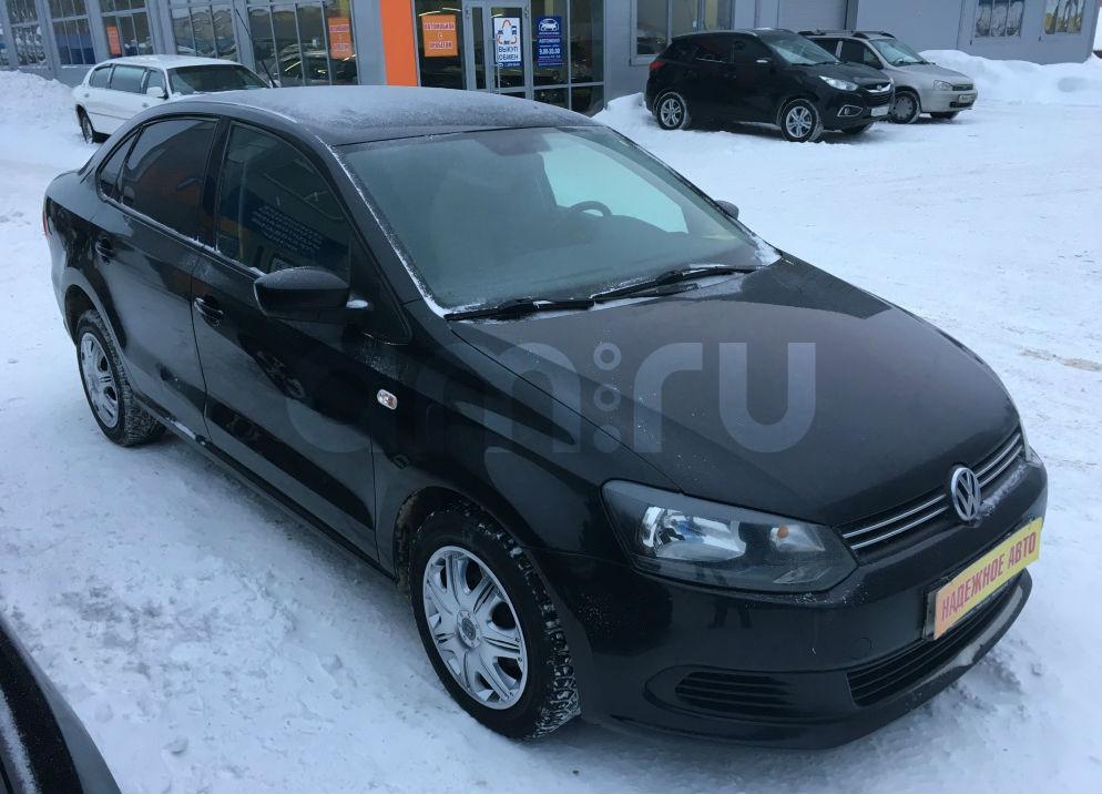 Volkswagen Polo с пробегом, черный , отличное состояние, 2012 года выпуска, цена 475 000 руб. в автосалоне Березовский привоз (Екатеринбург, тракт Березовский, д. 4Б)