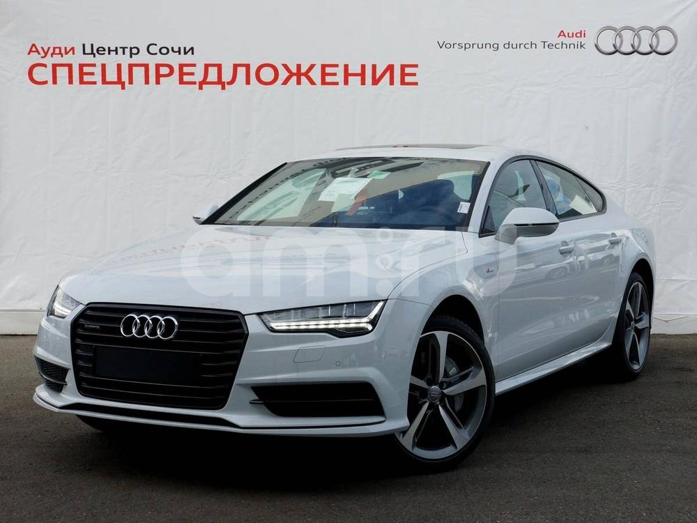 Новый авто Audi A7, белый , 2016 года выпуска, цена 3 720 000 руб. в автосалоне  ()