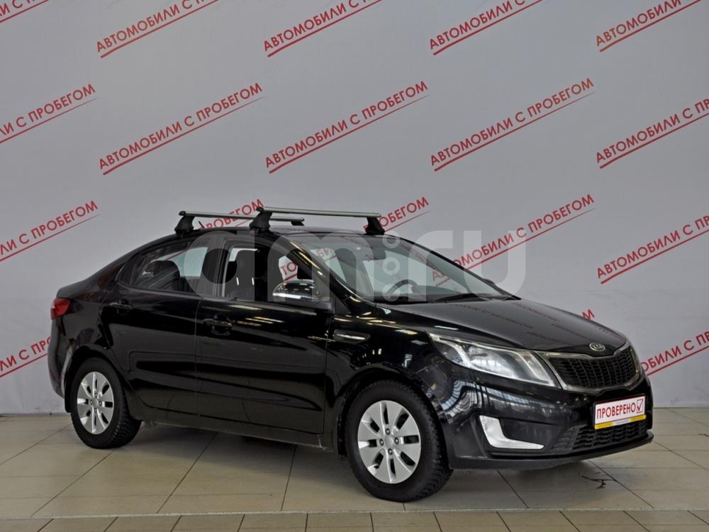 Kia Rio с пробегом, черный , отличное состояние, 2012 года выпуска, цена 469 000 руб. в автосалоне  ()