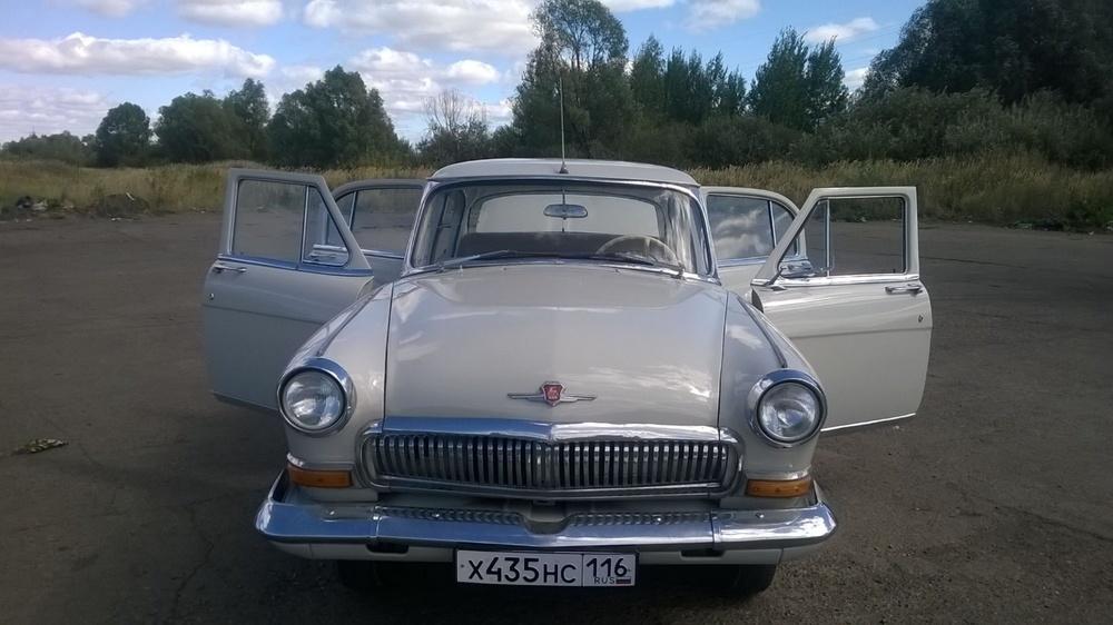 Подержанный ГАЗ 21 Волга, отличное состояние, бежевый , 1965 года выпуска, цена 500 000 руб. в республике Татарстане