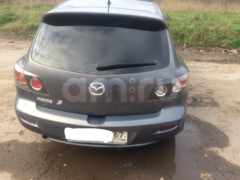 Подержанный Mazda 3, отличное состояние, серый , 2008 года выпуска, цена 450 000 руб. в Смоленской области