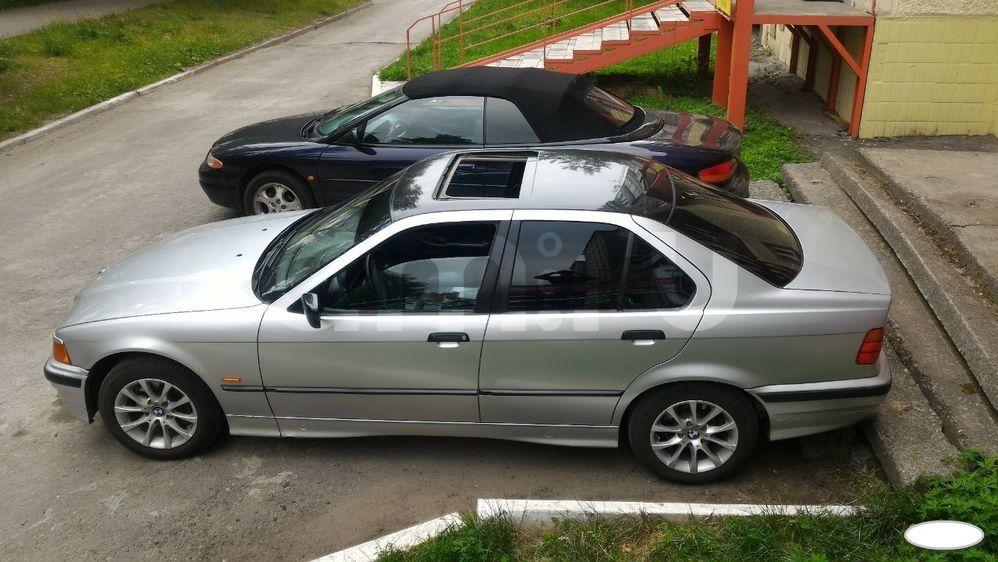 Подержанный BMW 3 серия, хорошее состояние, серебряный , 1998 года выпуска, цена 240 000 руб. в Челябинской области