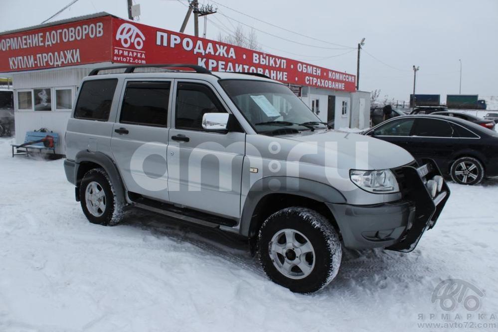 УАЗ Patriot с пробегом, серебряный металлик, хорошее состояние, 2006 года выпуска, цена 365 000 руб. в автосалоне  ()