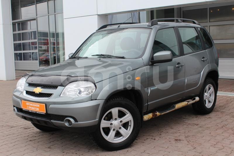 Chevrolet Niva с пробегом, серый , отличное состояние, 2013 года выпуска, цена 399 000 руб. в автосалоне Автобан-Запад (Екатеринбург, ул. Металлургов, д. 67)