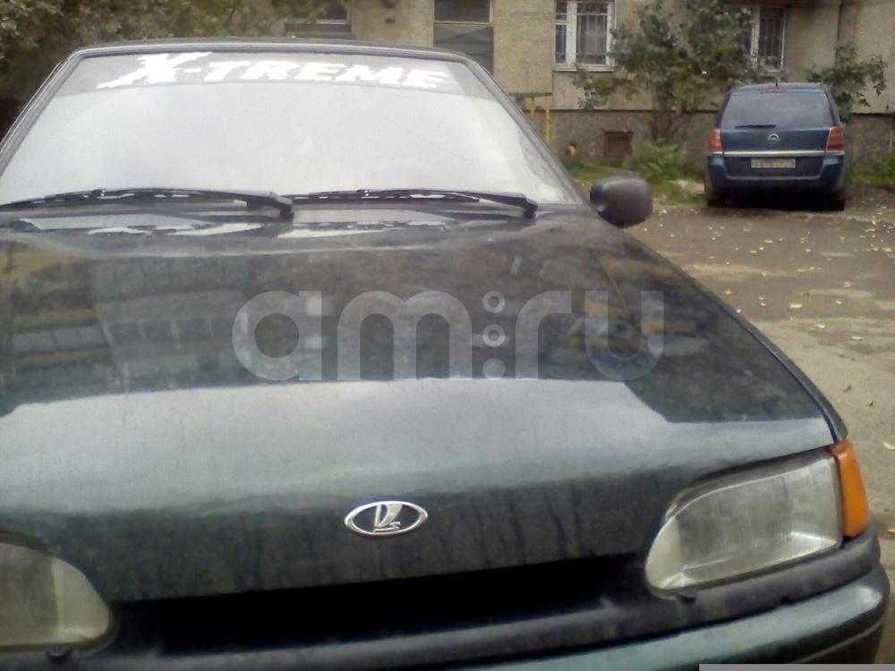 Подержанный ВАЗ (Lada) 2115, хорошее состояние, зеленый , 2004 года выпуска, цена 89 900 руб. в Челябинской области