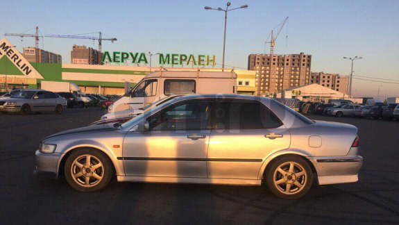 Подержанный Honda Torneo, отличное состояние, серебряный , 1998 года выпуска, цена 220 000 руб. в Твери