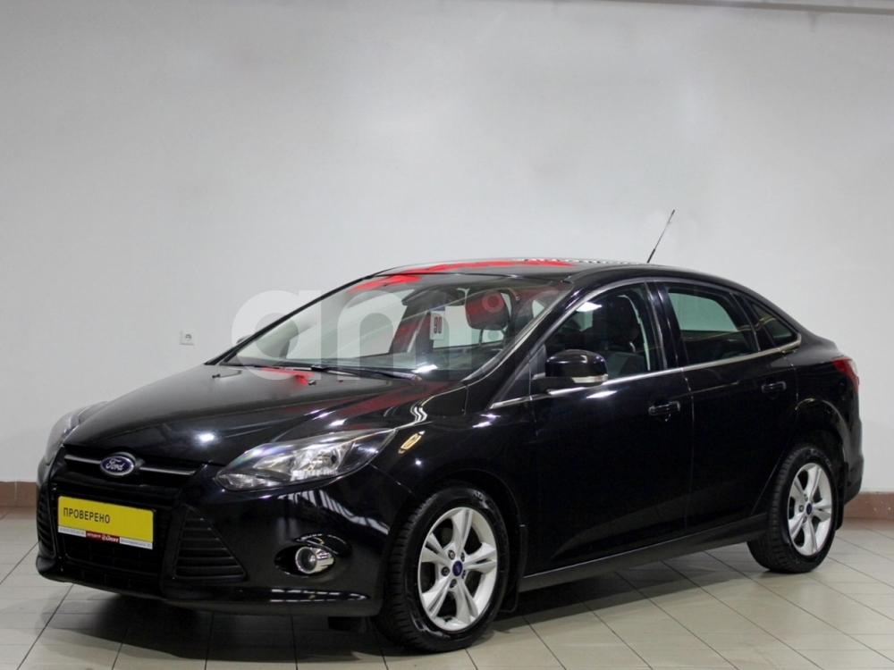 Ford Focus с пробегом, черный , отличное состояние, 2013 года выпуска, цена 495 000 руб. в автосалоне АЦ Атлантис (Москва, ш. Волоколамское, д. 103 (ст. м. Волоколамская))