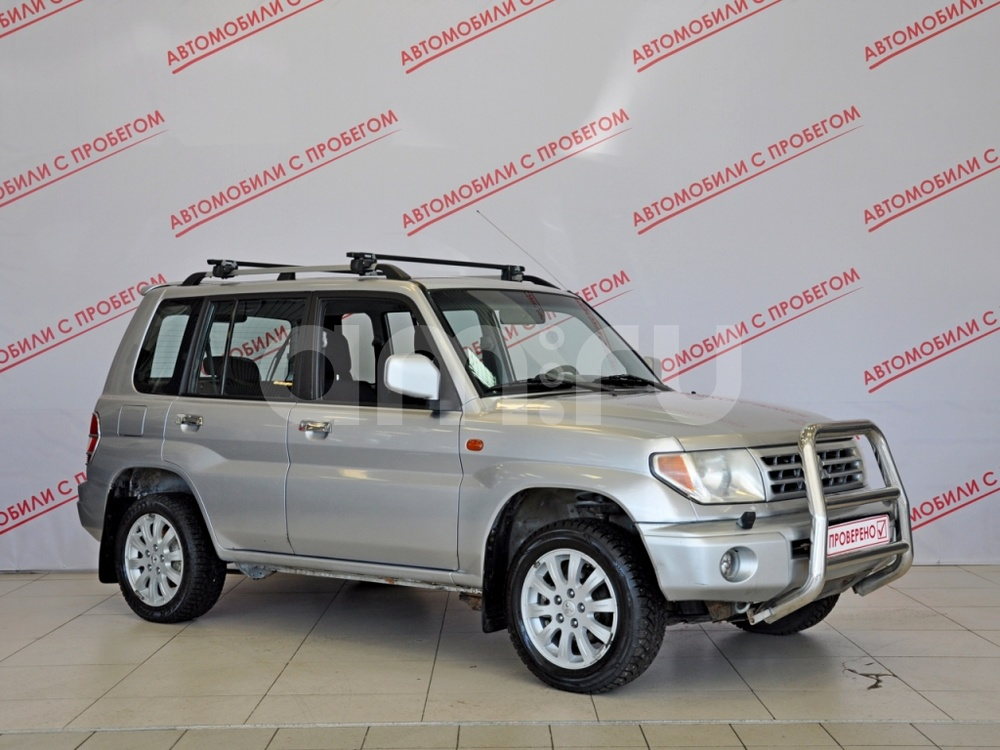 Mitsubishi Pajero Pinin с пробегом, серебряный , отличное состояние, 2004 года выпуска, цена 379 000 руб. в автосалоне NORTH-AUTO (Санкт-Петербург, пр-кт Маршала Блюхера, д. 54, корп. 1)