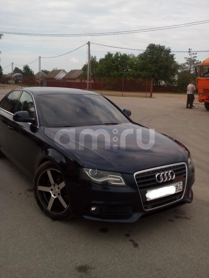 Подержанный Audi A4, отличное состояние, синий металлик, 2008 года выпуска, цена 700 000 руб. в Смоленской области