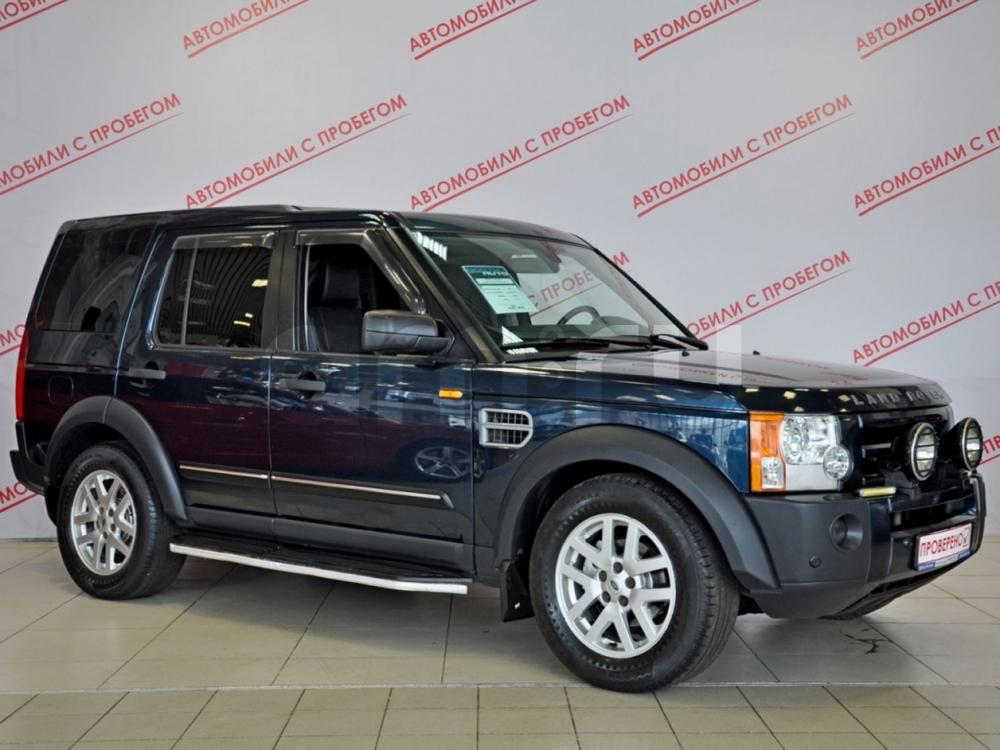 Land Rover Discovery с пробегом, синий , отличное состояние, 2008 года выпуска, цена 739 000 руб. в автосалоне  ()
