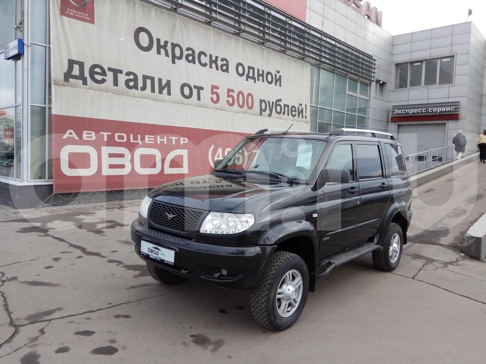 УАЗ Patriot с пробегом, черный , хорошее состояние, 2014 года выпуска, цена 494 000 руб. в автосалоне ОВОД (Москва, МКАД, 26 км)