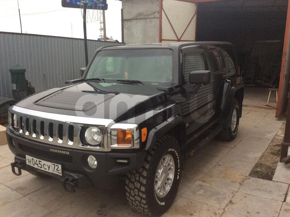 Подержанный Hummer H3, отличное состояние, черный , 2007 года выпуска, цена 950 000 руб. в ао. Ханты-Мансийском Автономном округе - Югре