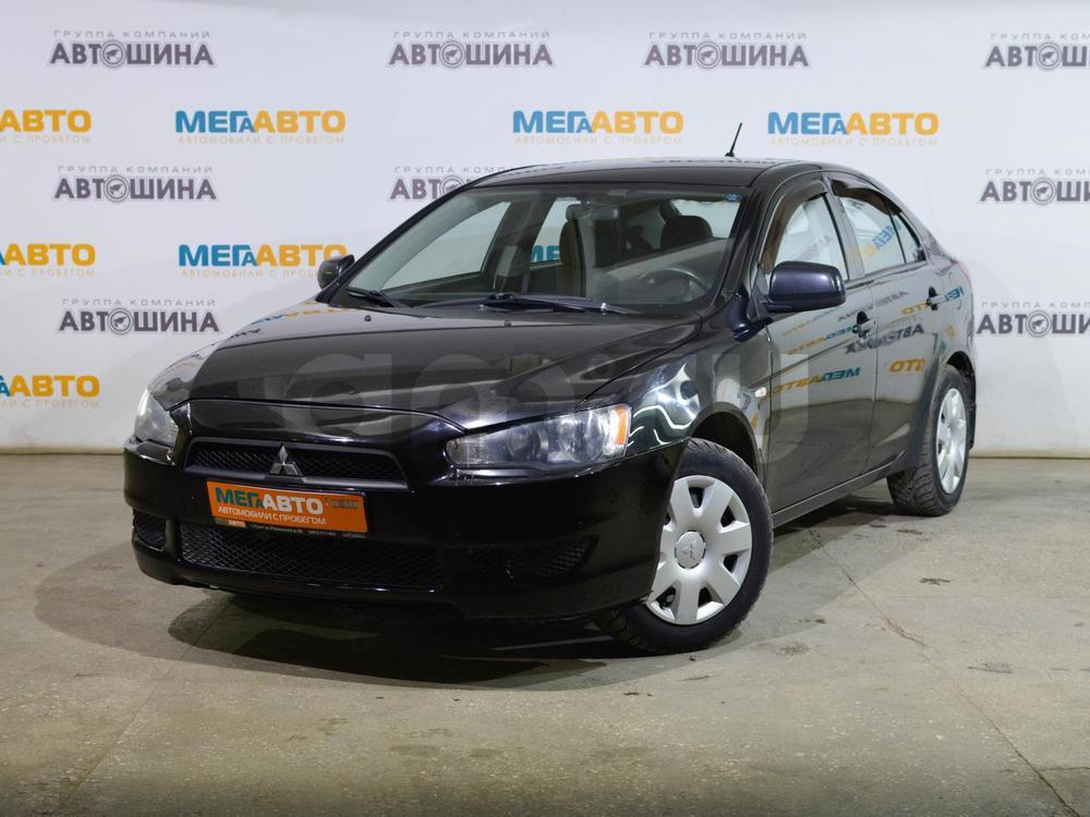 Mitsubishi Lancer с пробегом, черный , отличное состояние, 2008 года выпуска, цена 389 000 руб. в автосалоне Мега Авто Калуга (Калуга, ул. Зерновая, д. 28)