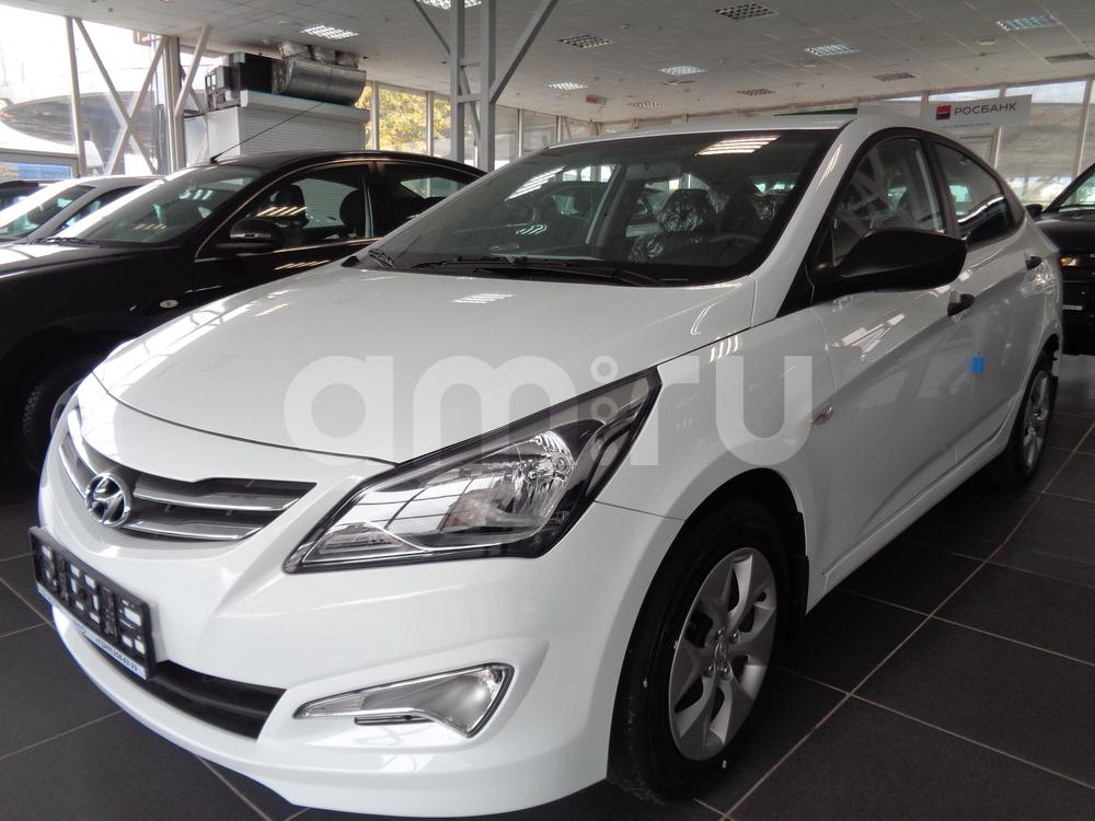 Hyundai Solaris с пробегом, белый , отличное состояние, 2016 года выпуска, цена 638 500 руб. в автосалоне УФА МОТОРС (Уфа, ул. Сарапульская, д. 35)