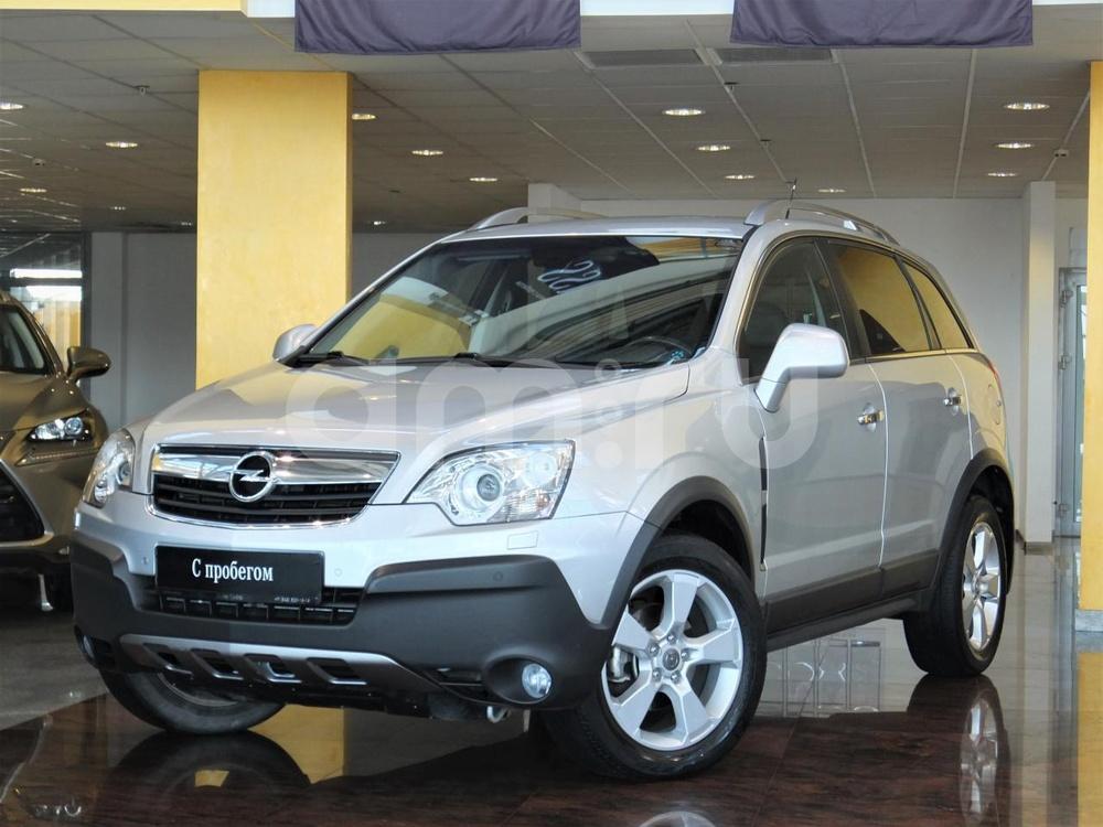 Opel Antara с пробегом, серебряный , отличное состояние, 2010 года выпуска, цена 643 000 руб. в автосалоне  ()