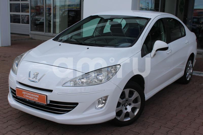 Peugeot 408 с пробегом, белый , отличное состояние, 2013 года выпуска, цена 375 000 руб. в автосалоне  ()