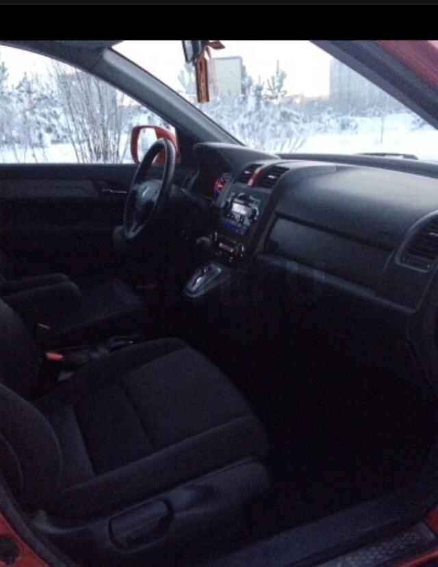 Подержанный Honda CR-V, хорошее состояние, красный , 2007 года выпуска, цена 710 000 руб. в ао. Ханты-Мансийском Автономном округе - Югре