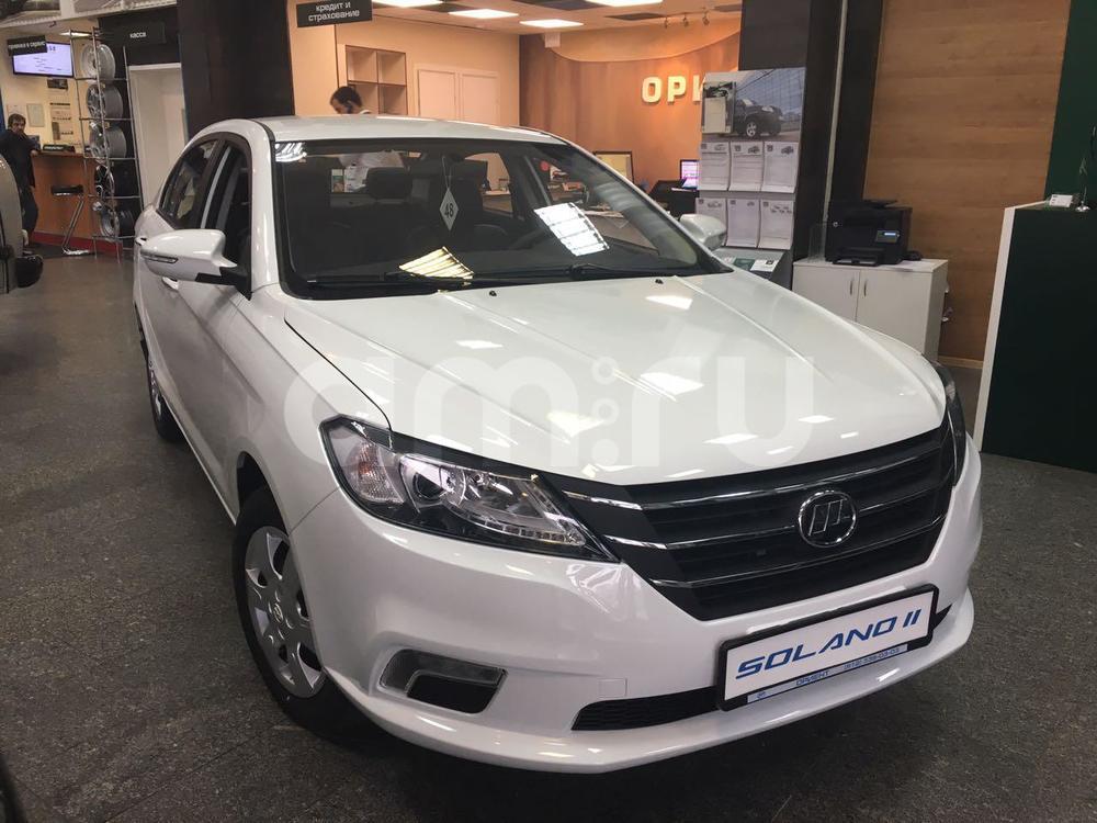 Новый авто Lifan Solano, белый , 2016 года выпуска, цена 499 900 руб. в автосалоне  ()