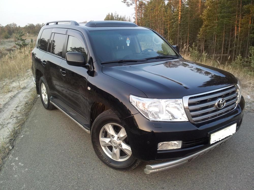 Подержанный Toyota Land Cruiser, отличное состояние, черный , 2010 года выпуска, цена 2 550 000 руб. в ао. Ханты-Мансийском Автономном округе - Югре