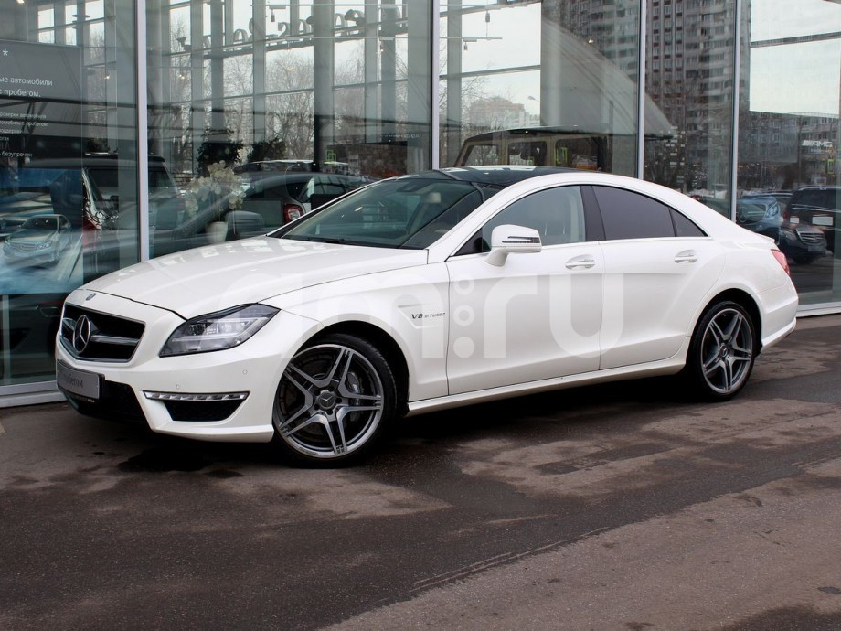 Mercedes-Benz CLS-Класс с пробегом, белый , отличное состояние, 2013 года выпуска, цена 3 299 000 руб. в автосалоне  ()