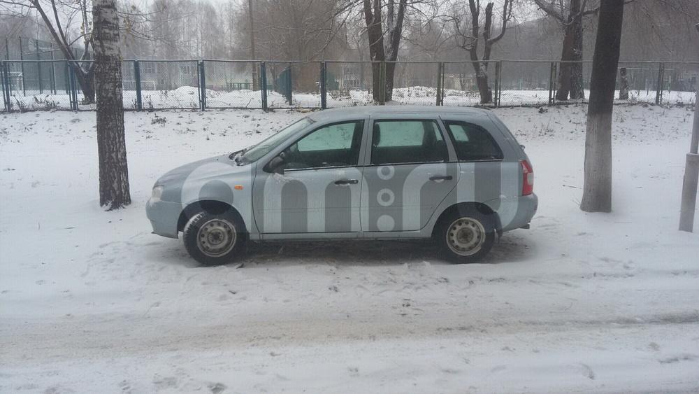 Подержанный ВАЗ (Lada) Kalina, отличное состояние, голубой , 2012 года выпуска, цена 203 000 руб. в республике Татарстане