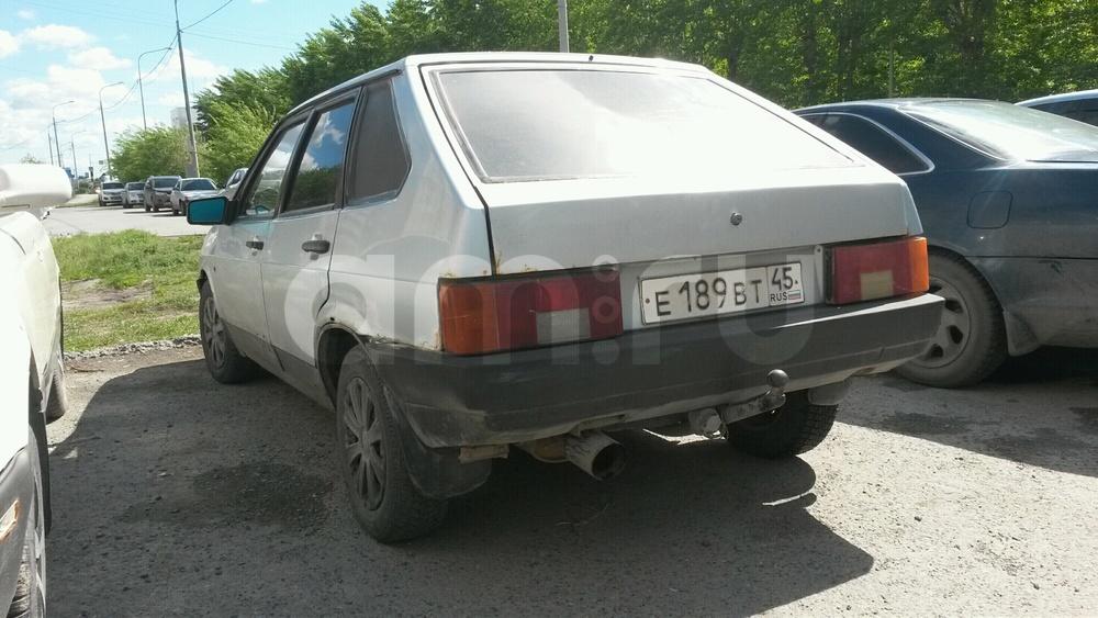 Подержанный ВАЗ (Lada) 2109, среднее состояние, серебряный , 1997 года выпуска, цена 25 000 руб. в Тюмени