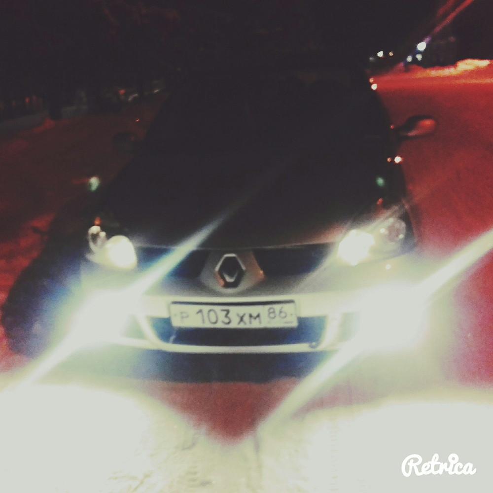 Подержанный Renault Symbol, плохое состояние, серебряный , 2008 года выпуска, цена 170 000 руб. в ао. Ханты-Мансийском Автономном округе - Югре