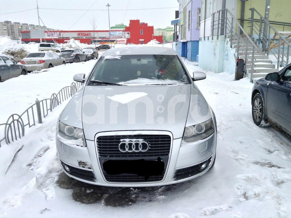 Подержанный Audi A6, плохое состояние, серебряный , 2007 года выпуска, цена 480 000 руб. в ао. Ханты-Мансийском Автономном округе - Югре