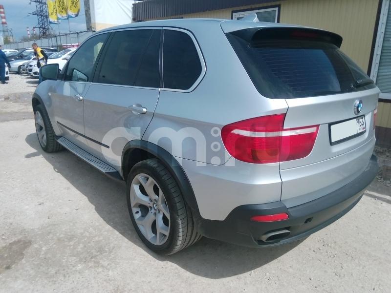 BMW X5 с пробегом, серебряный , отличное состояние, 2007 года выпуска, цена 940 000 руб. в автосалоне Авто-Брокер на Антонова-Овсеенко (Самара, ул. Антонова-Овсеенко, д. 51Ж)