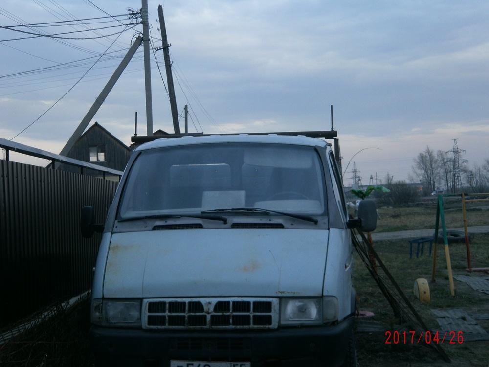 Подержанный ГАЗ Газель, среднее состояние, серый , 1999 года выпуска, цена 120 000 руб. в Омске