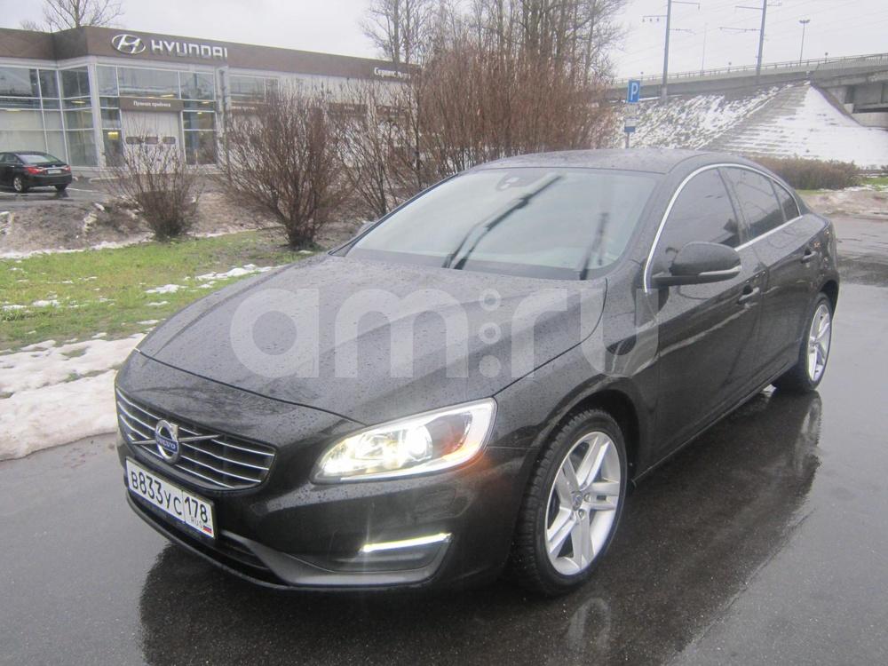 Volvo S60 с пробегом, черный металлик, отличное состояние, 2014 года выпуска, цена 1 069 000 руб. в автосалоне ДАКАР Hyundai на Пулковском (Санкт-Петербург, ш. Пулковское, д. 44, корп. 1)