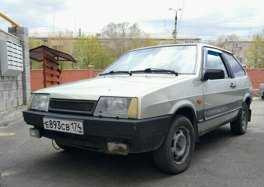 Подержанный ВАЗ (Lada) 2108, хорошее состояние, сафари , 2002 года выпуска, цена 67 000 руб. в Челябинской области