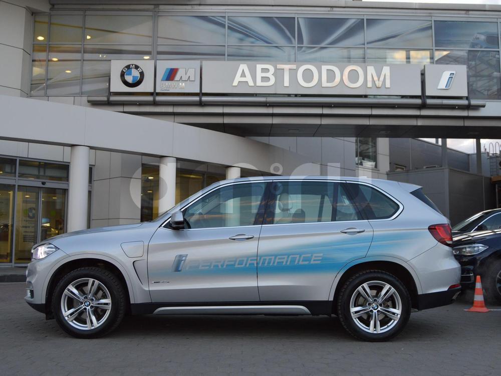 BMW X5 с пробегом, серебряный , отличное состояние, 2016 года выпуска, цена 4 299 000 руб. в автосалоне АВТОDОМ МКАД (Москва, МКАД, 51 км (внешняя сторона))