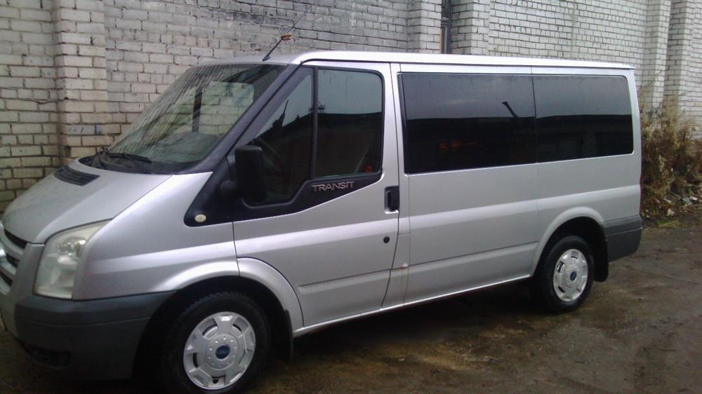 Подержанный Ford Transit, хорошее состояние, серебряный металлик, 2007 года выпуска, цена 598 000 руб. в Архангельске