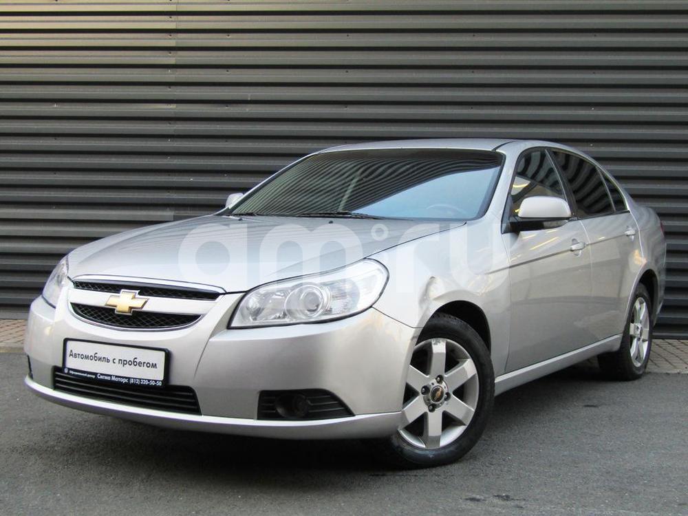 Chevrolet Epica с пробегом, серебряный металлик, хорошее состояние, 2007 года выпуска, цена 296 300 руб. в автосалоне  ()