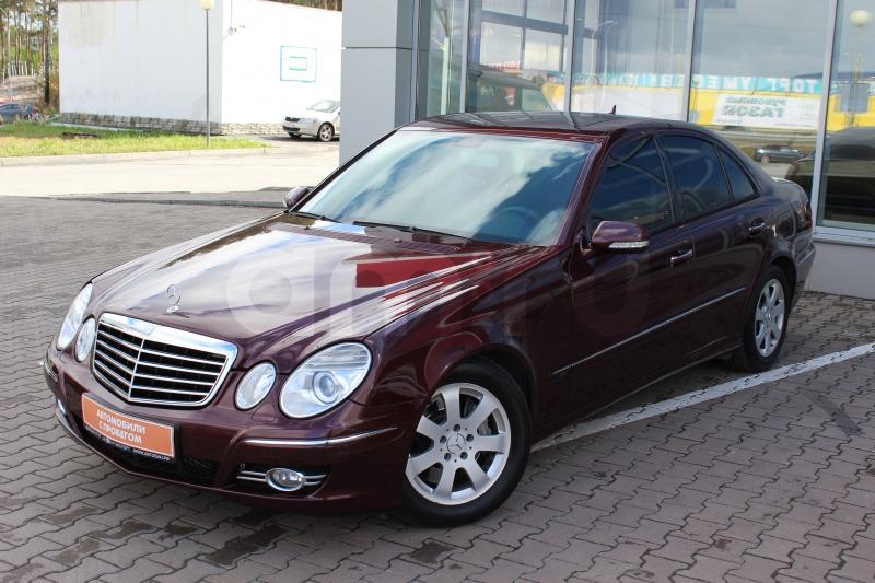 Mercedes-Benz E-Класс с пробегом, бордовый , отличное состояние, 2008 года выпуска, цена 739 000 руб. в автосалоне Автобан-Запад (Екатеринбург, ул. Металлургов, д. 67)