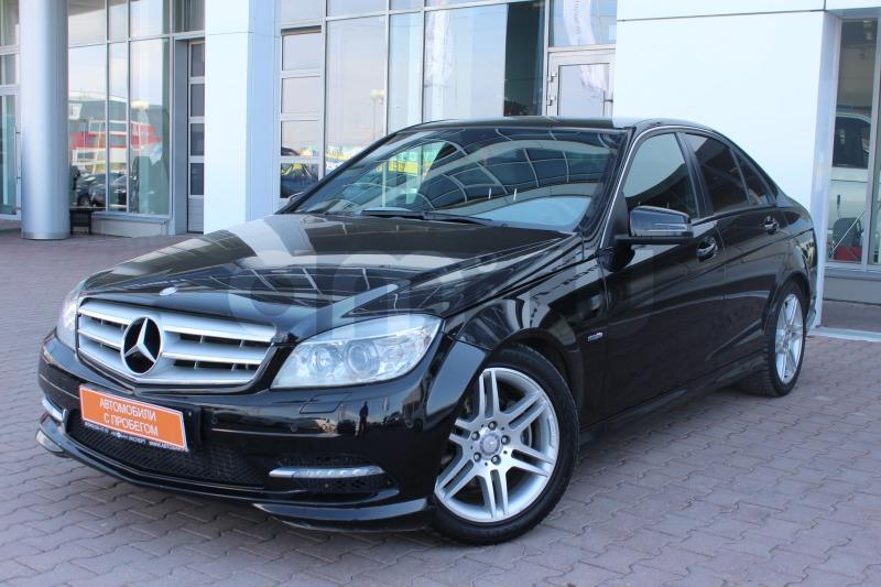 Mercedes-Benz C-Класс с пробегом, черный , отличное состояние, 2011 года выпуска, цена 850 000 руб. в автосалоне Автобан-Запад (Екатеринбург, ул. Металлургов, д. 67)
