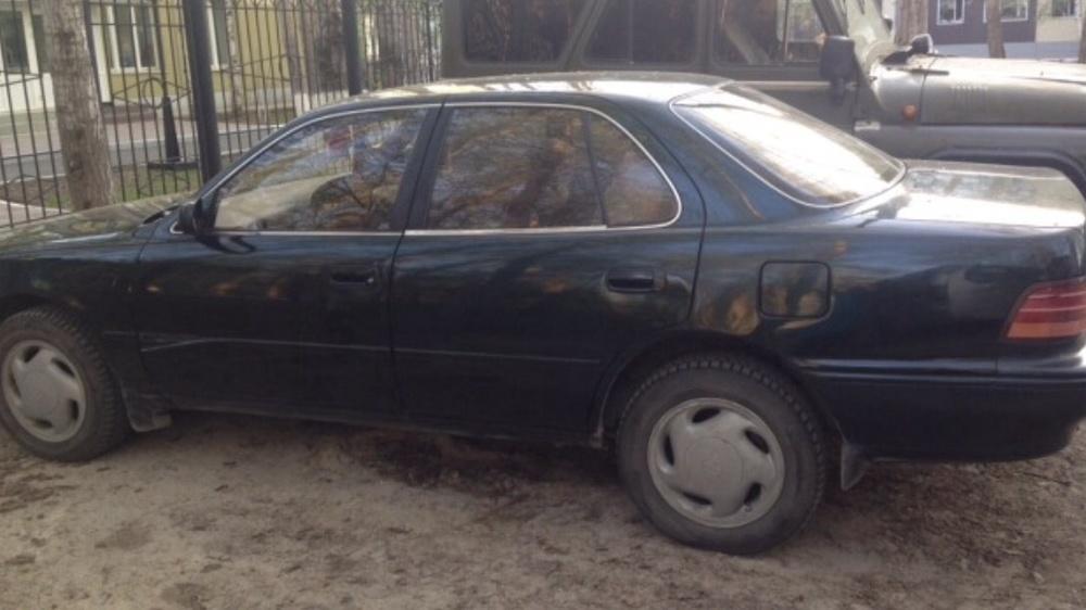 Подержанный Toyota Camry, хорошее состояние, зеленый , 1994 года выпуска, цена 130 000 руб. в ао. Ханты-Мансийском Автономном округе - Югре