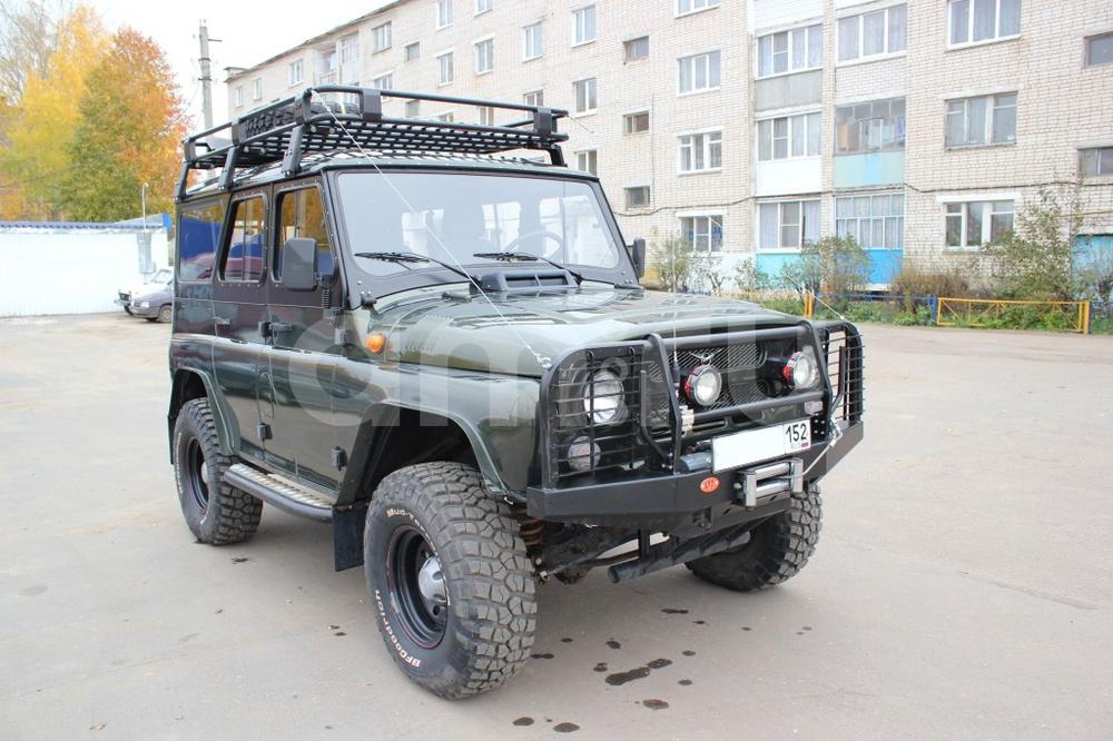 Подержанный УАЗ Hunter, отличное состояние, зеленый , 2012 года выпуска, цена 680 000 руб. в Нижнем Новгороде