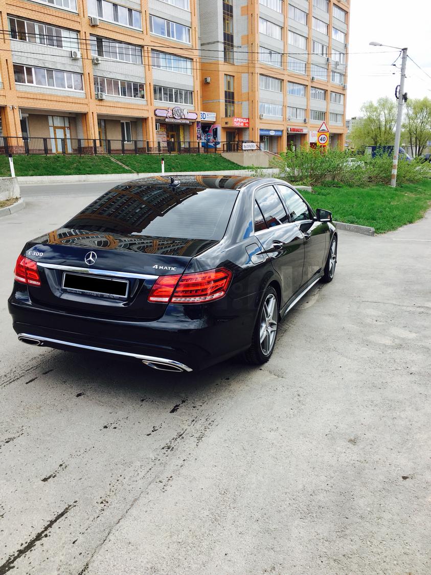 Подержанный Mercedes-Benz E-Класс, отличное состояние, черный металлик, 2013 года выпуска, цена 2 100 000 руб. в Ульяновске