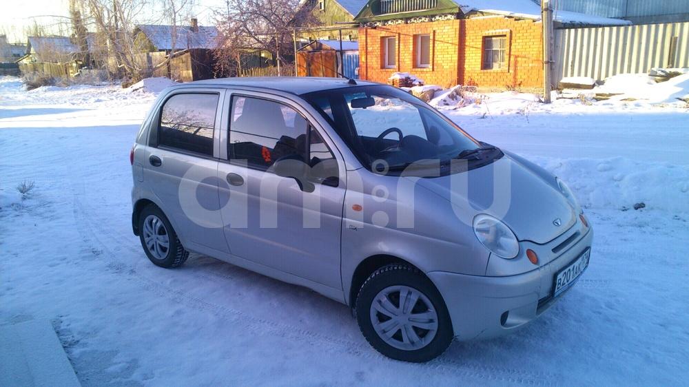 Подержанный Daewoo Matiz, хорошее состояние, серебряный , 2007 года выпуска, цена 140 000 руб. в Челябинской области