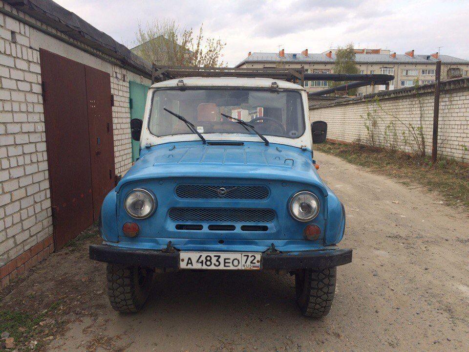 Подержанный УАЗ 3151, отличное состояние, голубой , 1997 года выпуска, цена 80 000 руб. в Тюмени