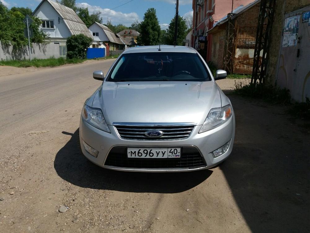 Подержанный Ford Mondeo, хорошее состояние, серебряный бриллиант, 2011 года выпуска, цена 500 000 руб. в Смоленской области
