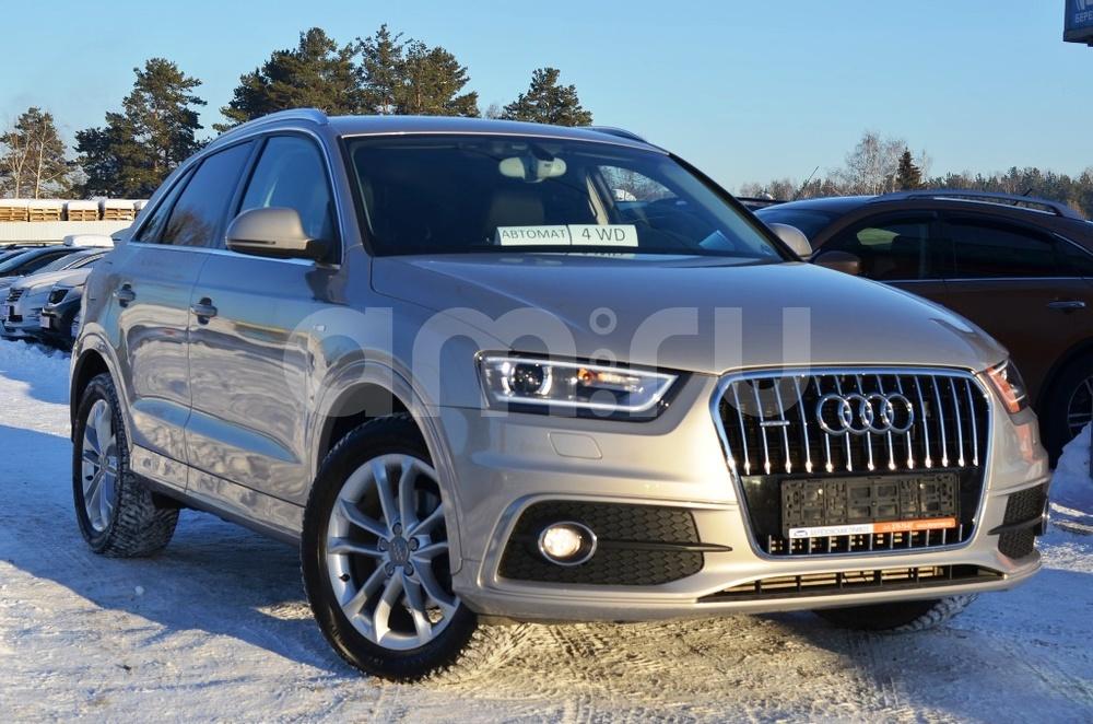 Audi Q3 с пробегом, бежевый , отличное состояние, 2013 года выпуска, цена 1 265 000 руб. в автосалоне Березовский привоз (Екатеринбург, тракт Березовский, д. 4Б)