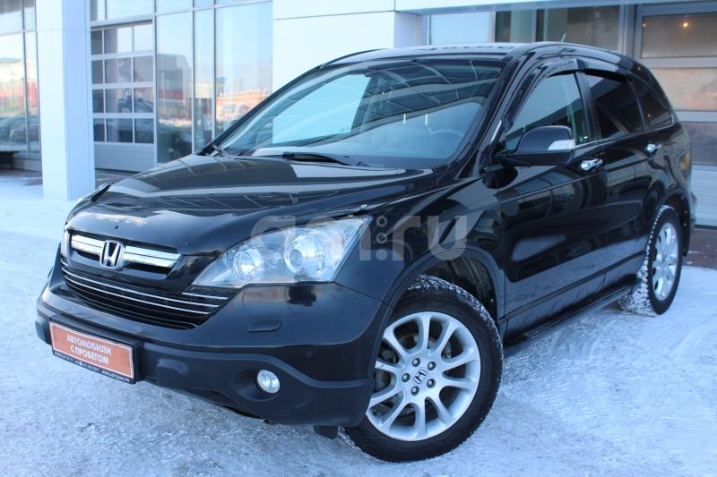 Honda CR-V с пробегом, черный , отличное состояние, 2008 года выпуска, цена 839 000 руб. в автосалоне Автобан-Запад (Екатеринбург, ул. Металлургов, д. 67)