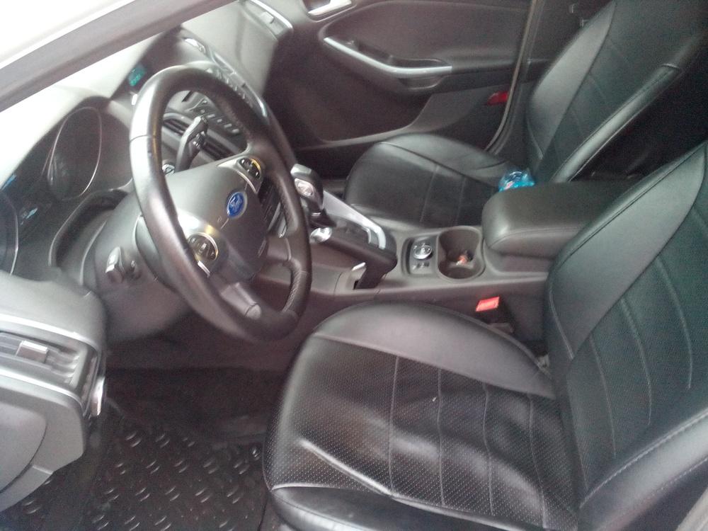 Подержанный Ford Focus, отличное состояние, белый , 2012 года выпуска, цена 570 000 руб. в Томской области