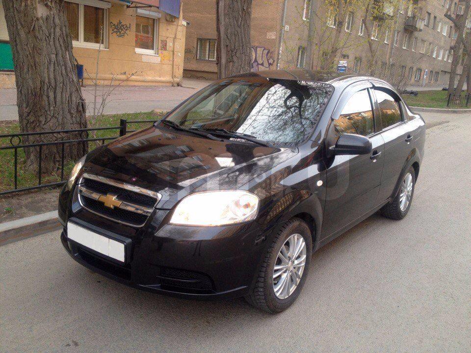 Подержанный Chevrolet Aveo, отличное состояние, черный , 2007 года выпуска, цена 250 000 руб. в Екатеринбурге