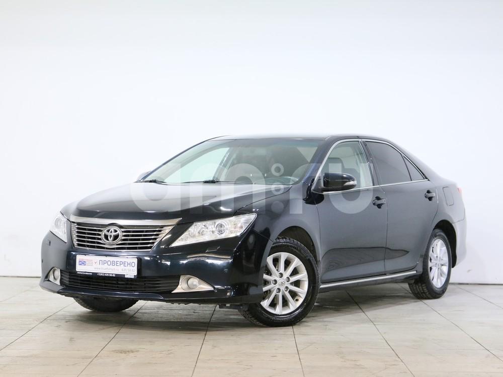 Toyota Camry с пробегом, черный металлик, отличное состояние, 2012 года выпуска, цена 869 000 руб. в автосалоне  ()