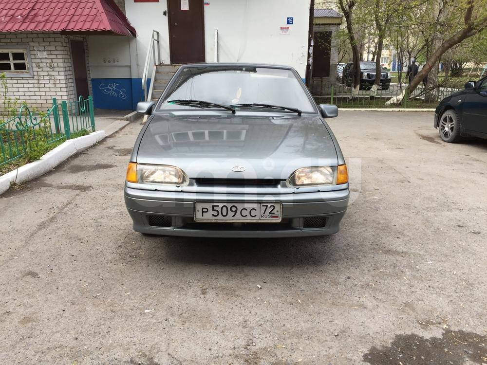 Подержанный ВАЗ (Lada) 2114, хорошее состояние, серебряный металлик, 2008 года выпуска, цена 125 000 руб. в Тюмени